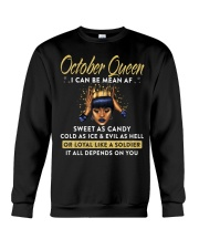 I can be mean AF-October Crewneck Sweatshirt thumbnail