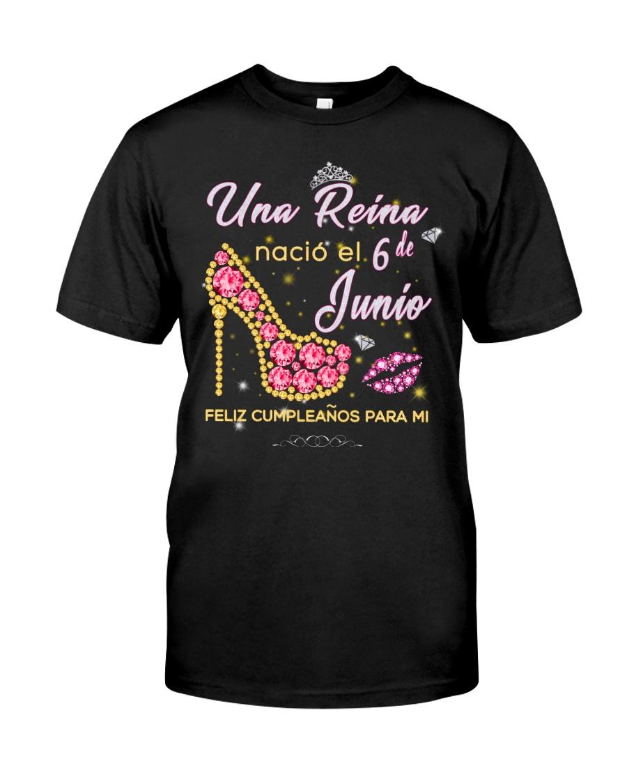 Una reina-6-album-heels-T6 Classic T-Shirt