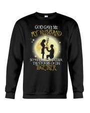 god gave me 2-wife Crewneck Sweatshirt thumbnail