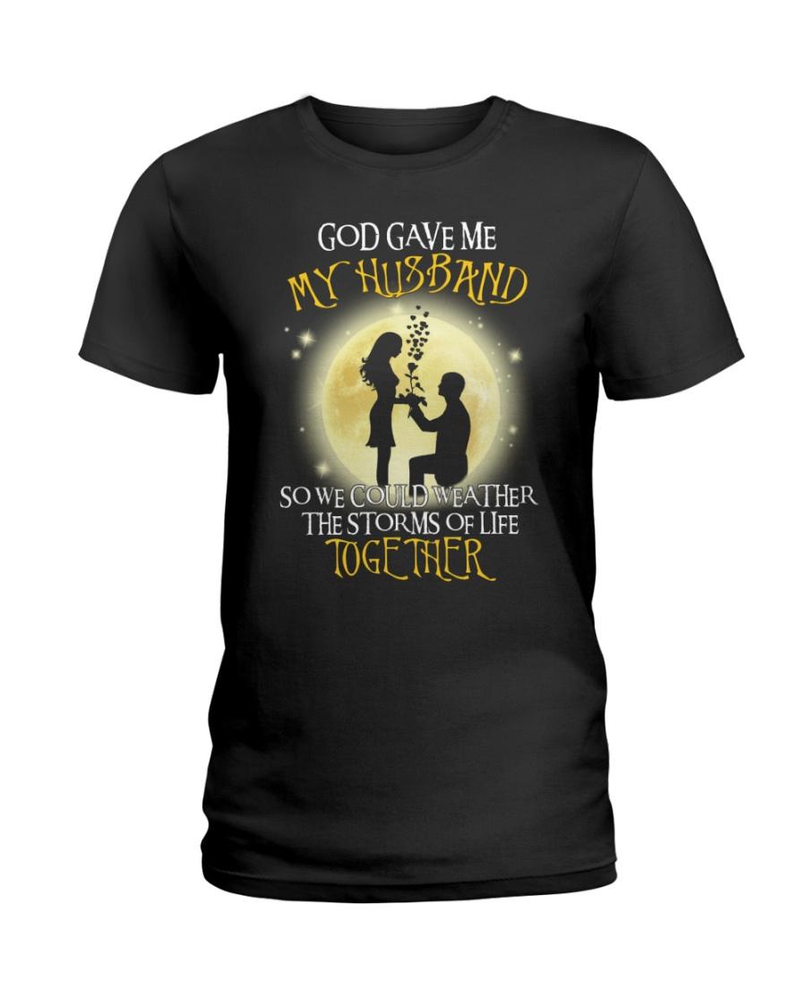 god gave me 2-wife Ladies T-Shirt
