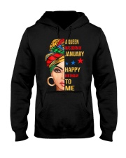 happy birthday to me - January Hooded Sweatshirt thumbnail