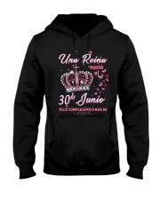 una reina-30-album-crown-T6 Hooded Sweatshirt thumbnail