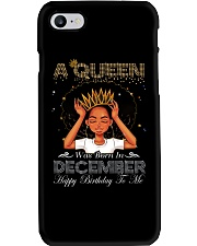 a queen was born in December 2-12 Phone Case thumbnail