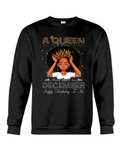 a queen was born in December 2-12 Crewneck Sweatshirt thumbnail