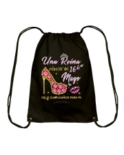 Una reina-16-album heels-T5 Drawstring Bag thumbnail