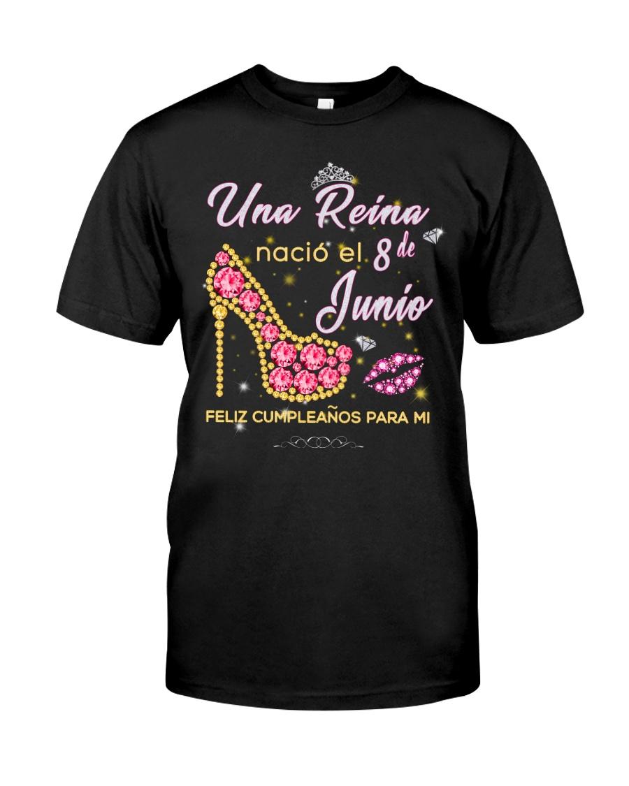 Una reina-8-album-heels-T6 Classic T-Shirt
