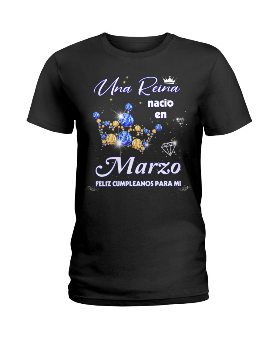 Una Reina 6 -marzo Ladies T-Shirt