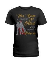Una reina-14-album-guocdoi-yellow-T4 Ladies T-Shirt thumbnail