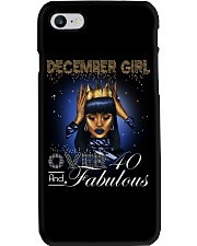 December girl over 40 and Fabulous-2-T12 Phone Case thumbnail