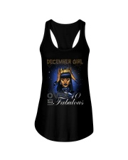 December girl over 40 and Fabulous-2-T12 Ladies Flowy Tank thumbnail