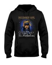December girl over 40 and Fabulous-2-T12 Hooded Sweatshirt thumbnail