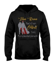 una reina-guoc doi-T4 fix Hooded Sweatshirt tile