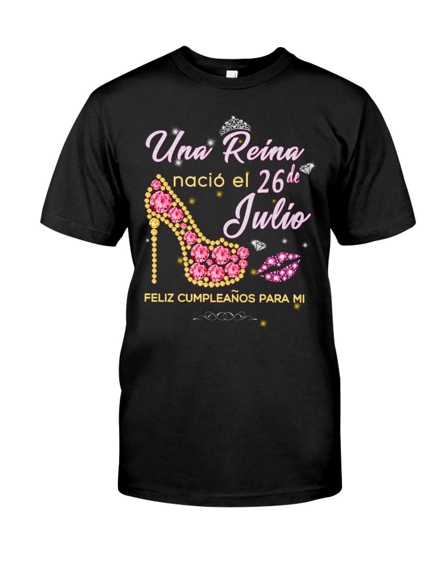 Una reina-26-album-heels-T7 Classic T-Shirt