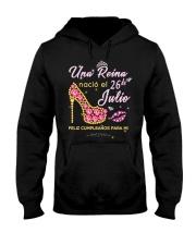 Una reina-26-album-heels-T7 Hooded Sweatshirt thumbnail