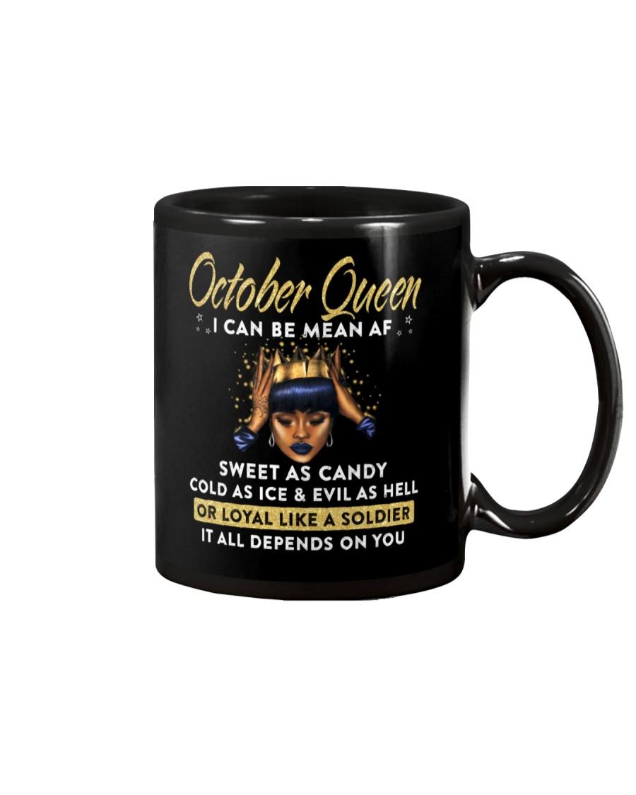 I can be mean AF-October-Mug Mug