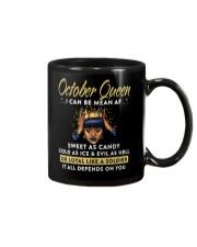 I can be mean AF-October-Mug Mug front