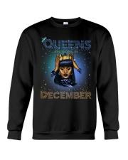 queen are born in-December Crewneck Sweatshirt thumbnail