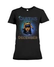 queen are born in-December Premium Fit Ladies Tee thumbnail