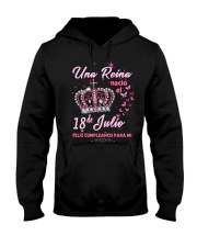 Una reina-18-album-crown-T7 Hooded Sweatshirt thumbnail