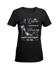A Queen 12-T2 Ladies T-Shirt women-premium-crewneck-shirt-front