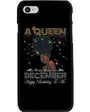 a queen was born in December 3-12 Phone Case thumbnail