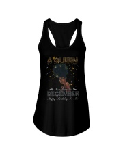 a queen was born in December 3-12 Ladies Flowy Tank thumbnail