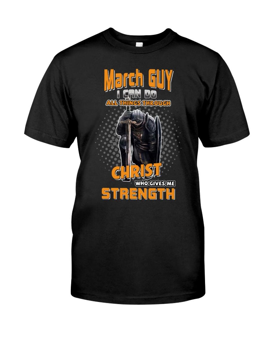 Strength guy-US-T3 fix Classic T-Shirt
