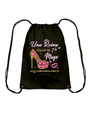 Una reina-7-album heels-T5 Drawstring Bag thumbnail