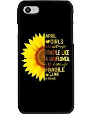 Bomb sunflower -T4 Phone Case thumbnail