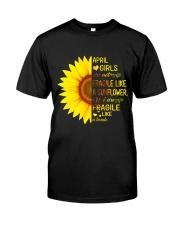 Bomb sunflower -T4 Classic T-Shirt thumbnail