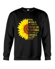 Bomb sunflower -T4 Crewneck Sweatshirt thumbnail