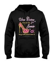 Una reina-2-album-heels-T6 Hooded Sweatshirt thumbnail