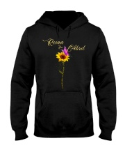 living  my best life-flower-T4 Hooded Sweatshirt thumbnail