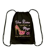 Una reina-001-album heels-T5 Drawstring Bag thumbnail
