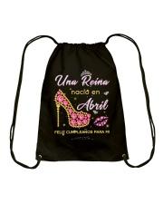 Una reina-T4 pxwin Drawstring Bag thumbnail