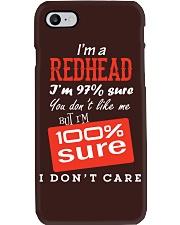 i'm a redhead i don't care Phone Case thumbnail