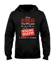 i'm a redhead i don't care Hooded Sweatshirt thumbnail