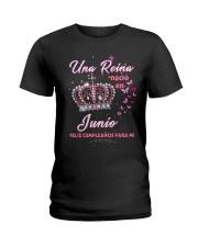 una reina-001-album-crown-T6 Ladies T-Shirt front