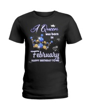 A Queen 11-T2 Ladies T-Shirt front