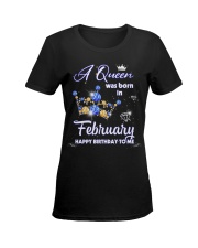 A Queen 11-T2 Ladies T-Shirt women-premium-crewneck-shirt-front