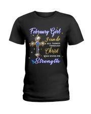 strength US-T2 fix Ladies T-Shirt front