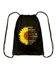bomb sunflower-T5 Drawstring Bag thumbnail