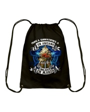never underestimate TBN-T3 Drawstring Bag thumbnail