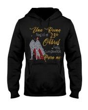 Una reina-23-album-guocdoi-yellow-T4 Hooded Sweatshirt thumbnail
