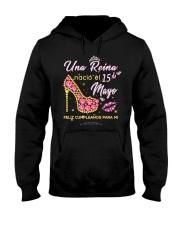 Una reina-15-album heels-T5 Hooded Sweatshirt thumbnail
