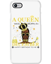 a queen was born in December 5-white-12 Phone Case thumbnail