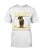 a queen was born in December 5-white-12 Classic T-Shirt thumbnail