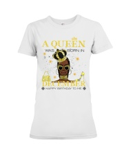 a queen was born in December 5-white-12 Premium Fit Ladies Tee thumbnail