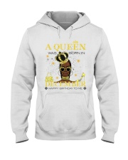 a queen was born in December 5-white-12 Hooded Sweatshirt thumbnail