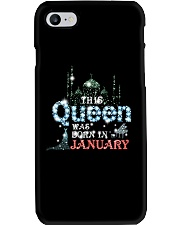 This Queen was born in 3 - January Phone Case thumbnail